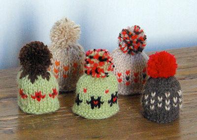 Bonnets tons d'automne 2