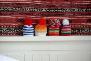 Mini-bonnets rayés